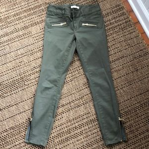 Loft Green Moto pants 24/00 P